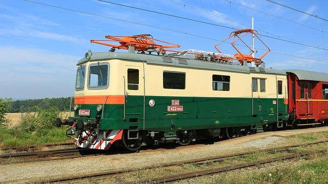 Electric Locomotive, Railway, Museum Train, Locomotive