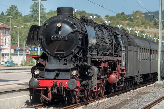 Steam Locomotive, Historically, Railway, Locomotive