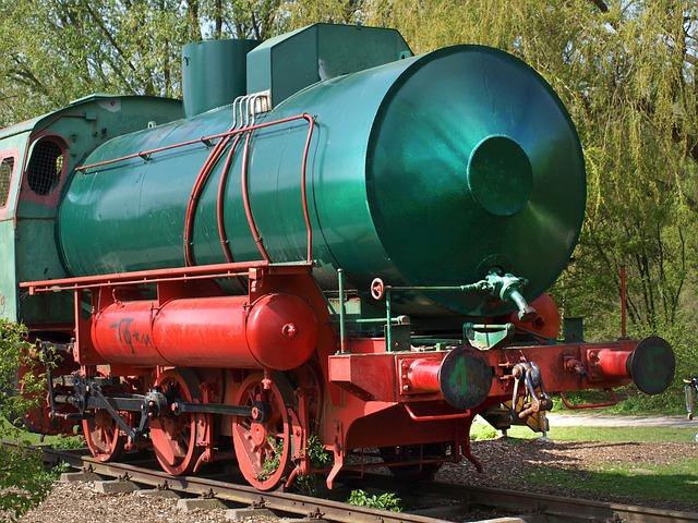 Steam Locomotive, Locomotive, Railway, Train
