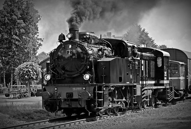 Loco, Steam Locomotive, Locomotive, Historically