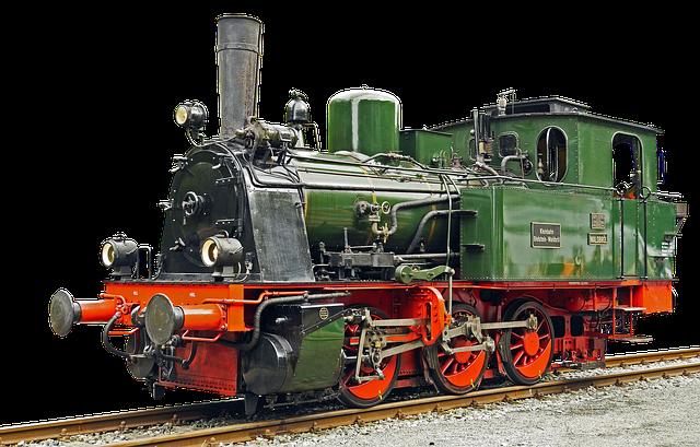 Locomotive, Steam Locomotive, Old, Railway