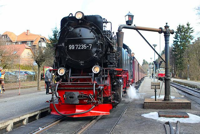 Locomotive, Railway, Steam Locomotive, Towing Vehicle