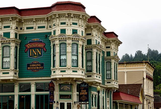 Victorian Inn, Hotel, Lodging, Rooms, Ferndale