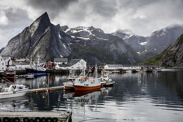 Reine, Lofoten, Norway, Arctic Circle, Landscape