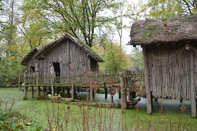 Africa, Bush, Hut, Scale, Log Cabin, Wood Shed, Barrack