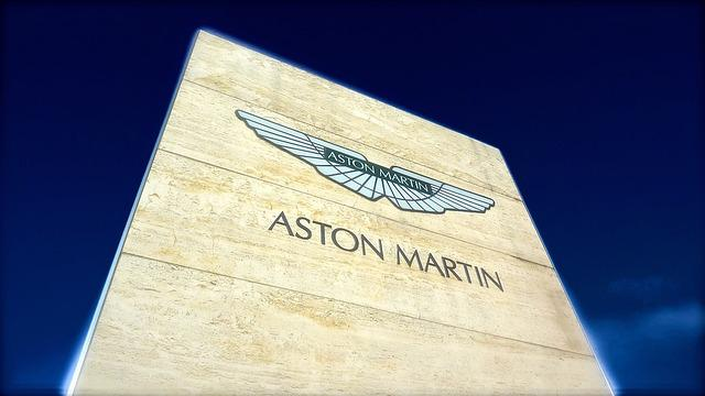 Aston Martin, Car, Fast, Logo, Sign, Sky, Speed