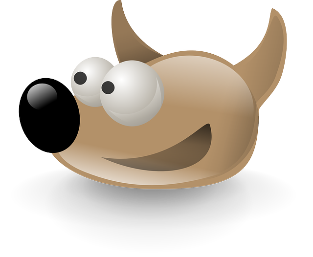 Gimp, Logo, Dog, Sout, Cartoon, Comic, Animal, Fox