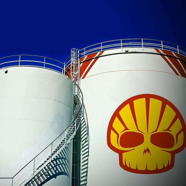Oil Tank, Storage Tank, Logo, Shell, Fuel, Fuel Tank