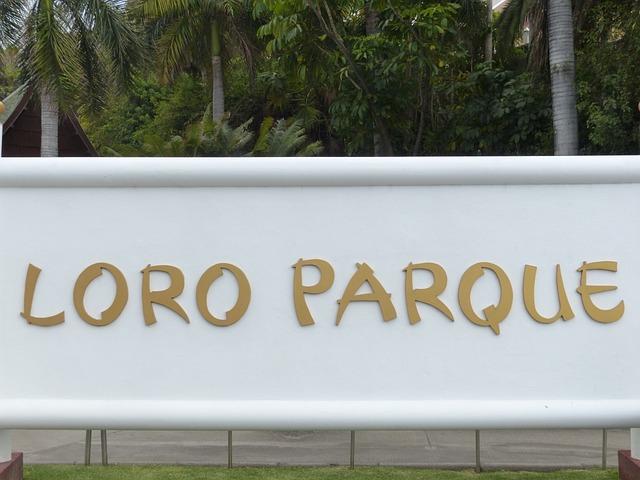 Loro Parkque, Zoo, Shield, Lettering, Logo, Tenerife