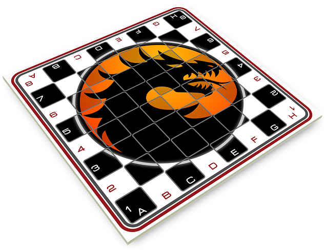 Chess, Board, Game Of Table, Logo Of Dragon