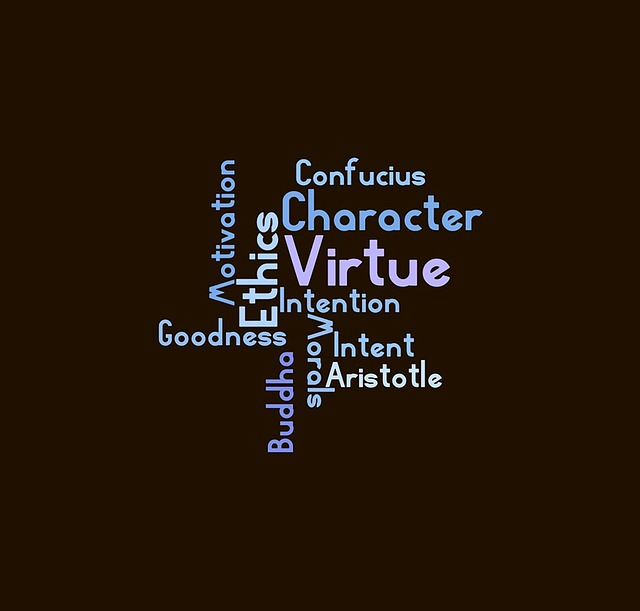 Ethics, Wordcloud, Virtue, New Fonts, Message, Logo