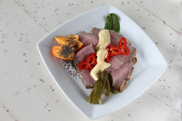 Loin Of Veal, Calf, Veal, Sharon Fruit, Chia Seeds