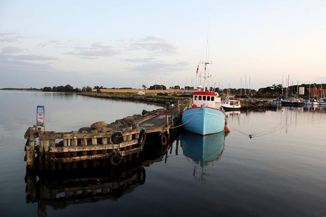 Port Motifs, Abendstimmung, Kragenäs, Lolland, Denmark