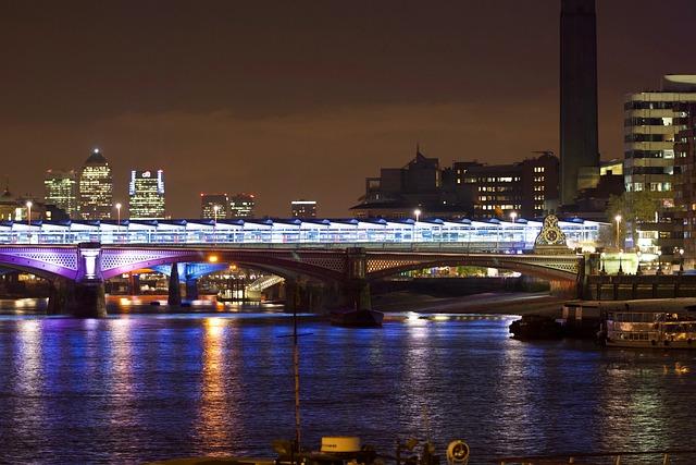 London, London At Night, Slow Shutter, England, Night