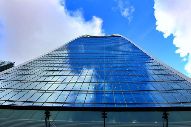 England, London, The Walkie Talkie Building, Cityscape