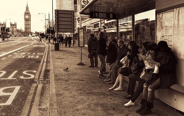 London, Stop, Human, United Kingdom, England