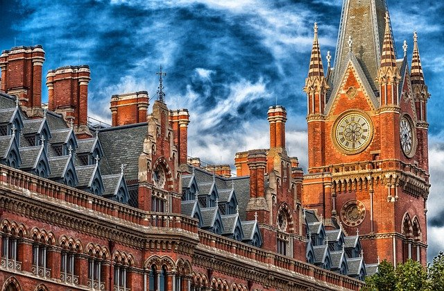 London, England, Great Britain, Building, Hdr