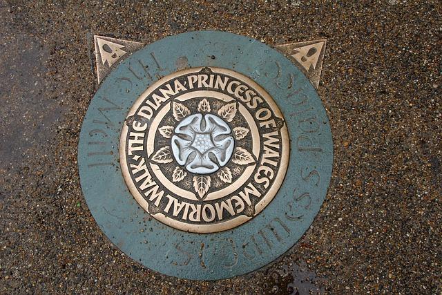 Princess, Lid, Brass, London, Wales, Manhole Covers