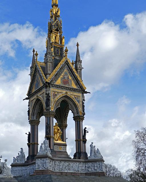 Prince Albert Memorial, Hyde Park, London