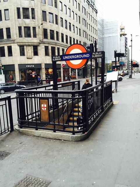Underground, London, Transport, Subway Station, Subway