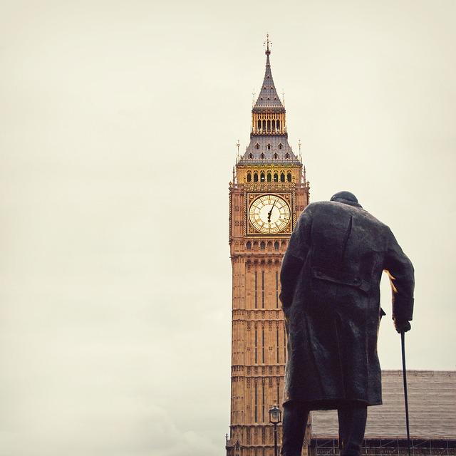 Big Ben, Westminster, Churchill, London, Parliament