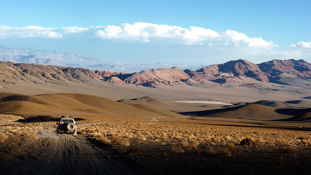 Landscape, Truck, Andes, Dessert, Lonely, Dry, Atacama