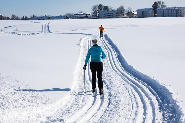 Long Läuferin, Trail, Trace, Binding, Langlaufschuh
