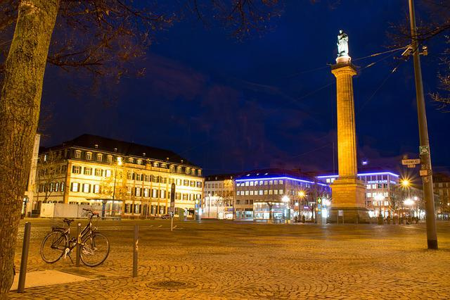 Darmstadt, Hesse, Germany, Luisenplatz, Long Lui