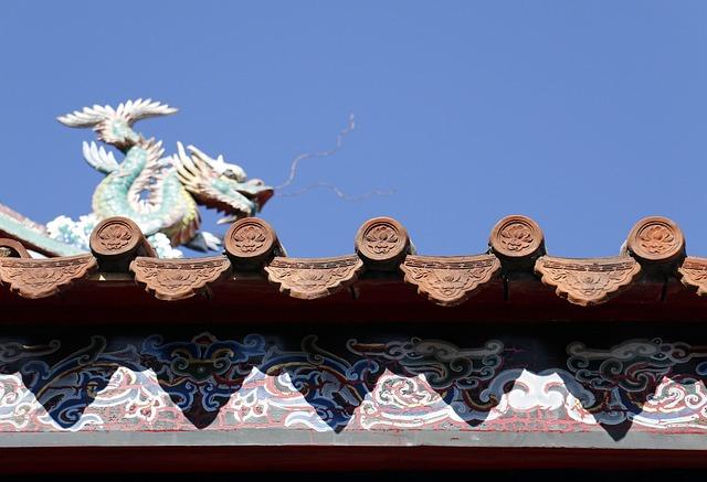 Tile, Temple, Long