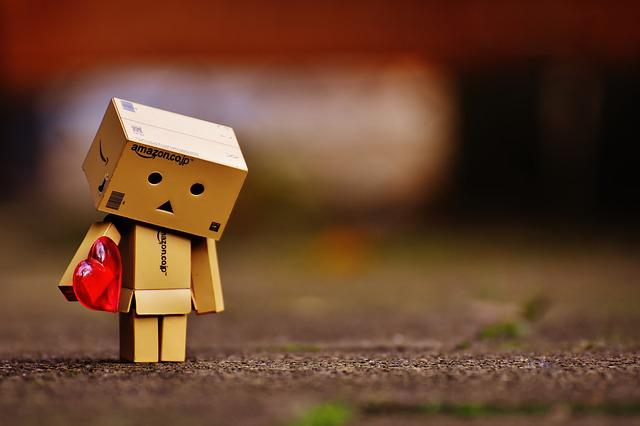 Danbo, Figures, Love, Longing, Miss, Heart, Separation