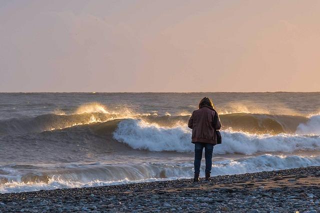 Sea, Waters, Beach, Wave, Surf, Longing