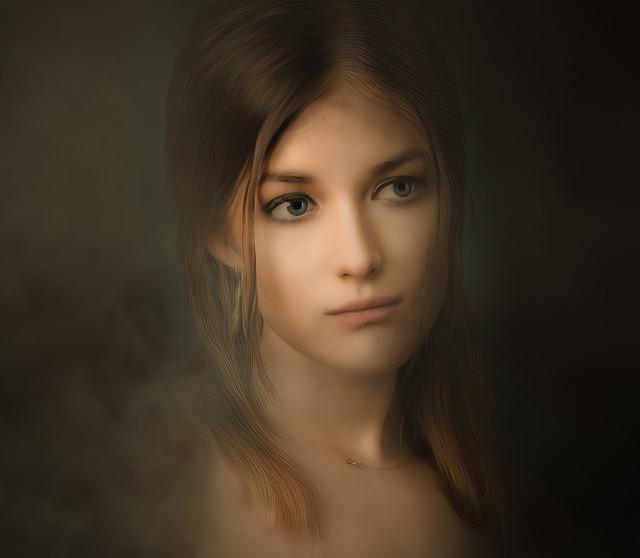 Portrait, Woman, Bella, Look