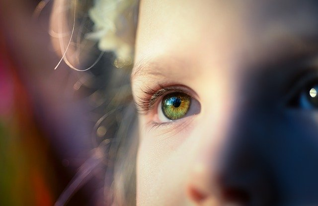 Girl, Iris, Eye, Look, View, Optics, Green, Female