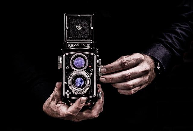Camera, Man, Photography, Portrait, Looking At Camera