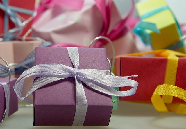 Gift, Package, Loop, Made, Christmas, Gifts, Festival