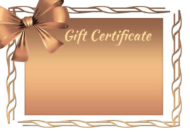 Gift, Gift Voucher, Coupon, Loop, Map, Gold, Old