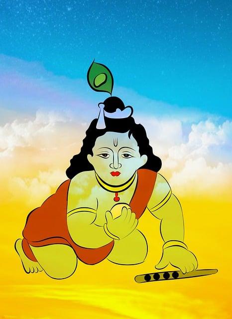 Krishna, Baby, Lord, God, Sweet Krishna, Child