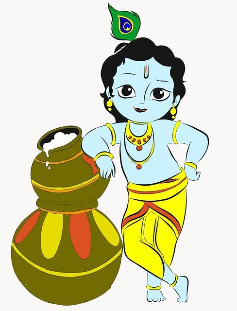 Art Of Little Lord Krishna, Lord Krishna
