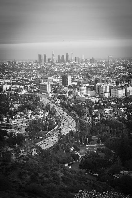 City, Los Angeles, Skyline