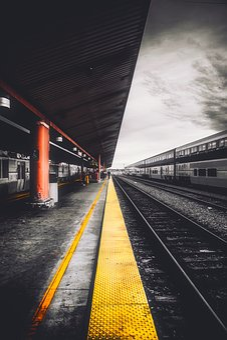 Train Station, Depot, Hdr, Los Angeles, California, Sky