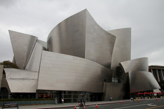 Walt Disney, Concert, Hall, Los Angeles, Downtown