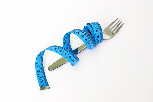 Tape, Fork, Diet, Health, Loss, Healthy, Nutrition
