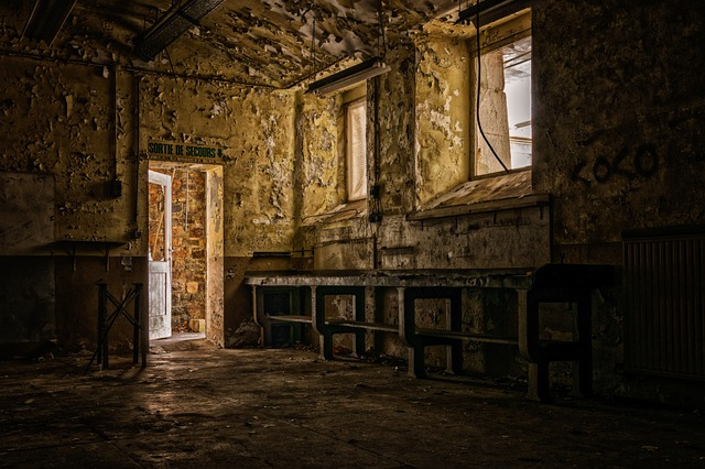 Lost Places, House, Gloomy, Dark, Abandoned Places