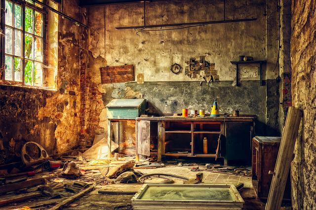 Workshop, Lost Places, Leave, Old, Decay, Pforphoto