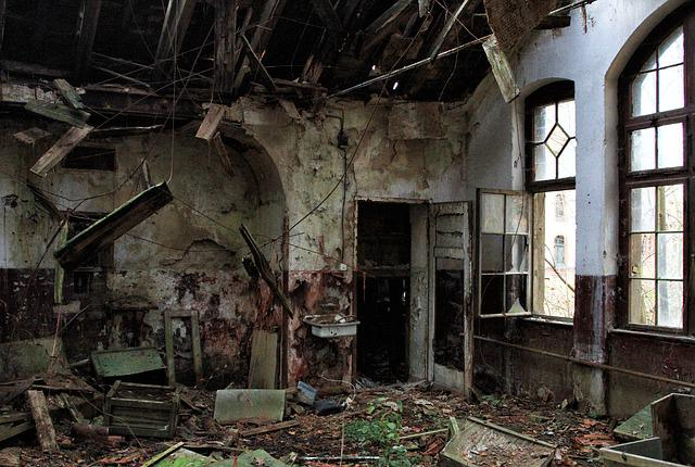 Lost Places, Run Down, Lapsed, Old Building