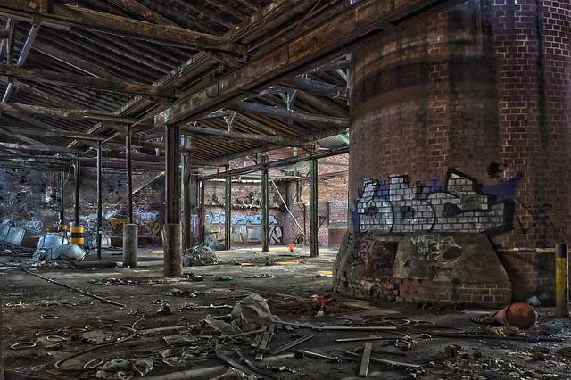 Lost Places, Factory, Pforphoto, Abandoned, Old