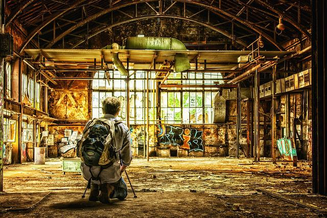 Photographer, Lost Places, Photograph, Pforphoto