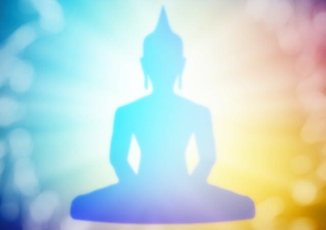 Buddha, Bokeh, Lotus Position, Buddhism, Meditation