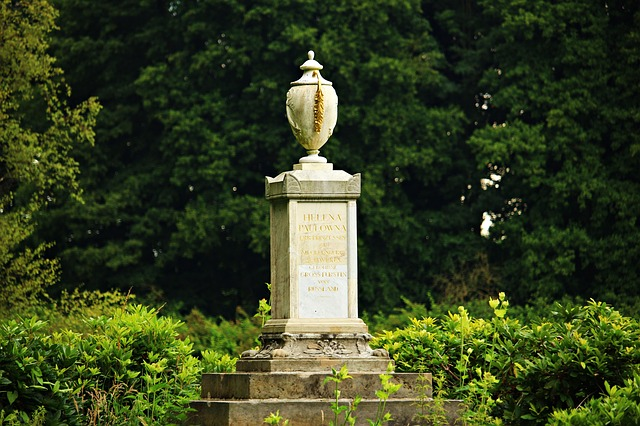 Vase, Sculpture, Monument, Louise Monument