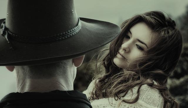 Woman, Man, Cowboy, Love, View, Romance, Dreams